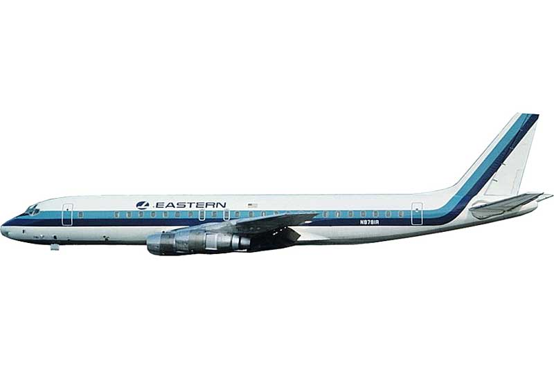 Eastern Airlines DC-8-21 N8608 (1:400) - Preorder item, order now for future delivery