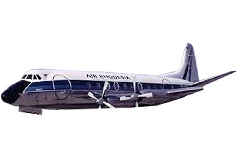 Air Zimbabwe Viscount 700 Z-YNL - Preorder item, order now for future delivery
