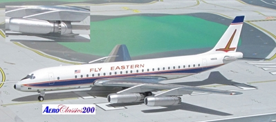 "Eastern DC-8/21 N8606 ""Fly Eastern (1:200)"