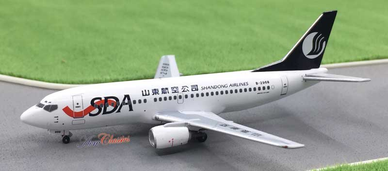 Shandong Airlines B737-300 B-2968 (1:400)