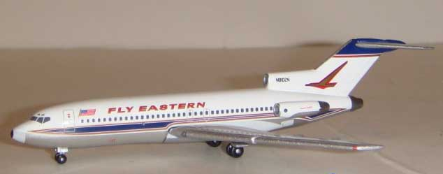 "Eastern Airlines 727 N8108N ""Fly Eastern"" with falcon tail (1:400)"