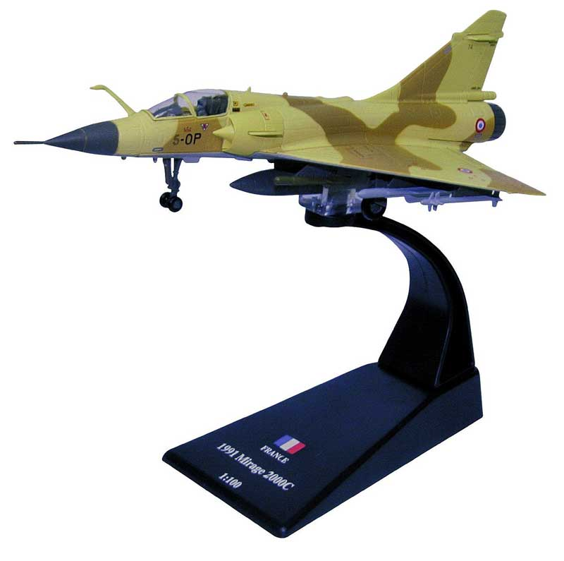 "Mirage 2000C, EC 2/5 ""Ile de France,"" Armee de lAir, El Ahsa Saudi Air Base, 1990-91 (1:100)"