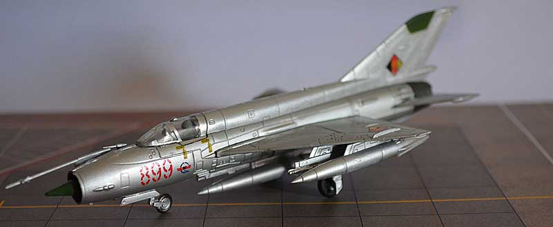 Mikoyan-Gurevich MiG-21J, Deutsche Demokratik Republik (East Germany), 1999 (1:100)