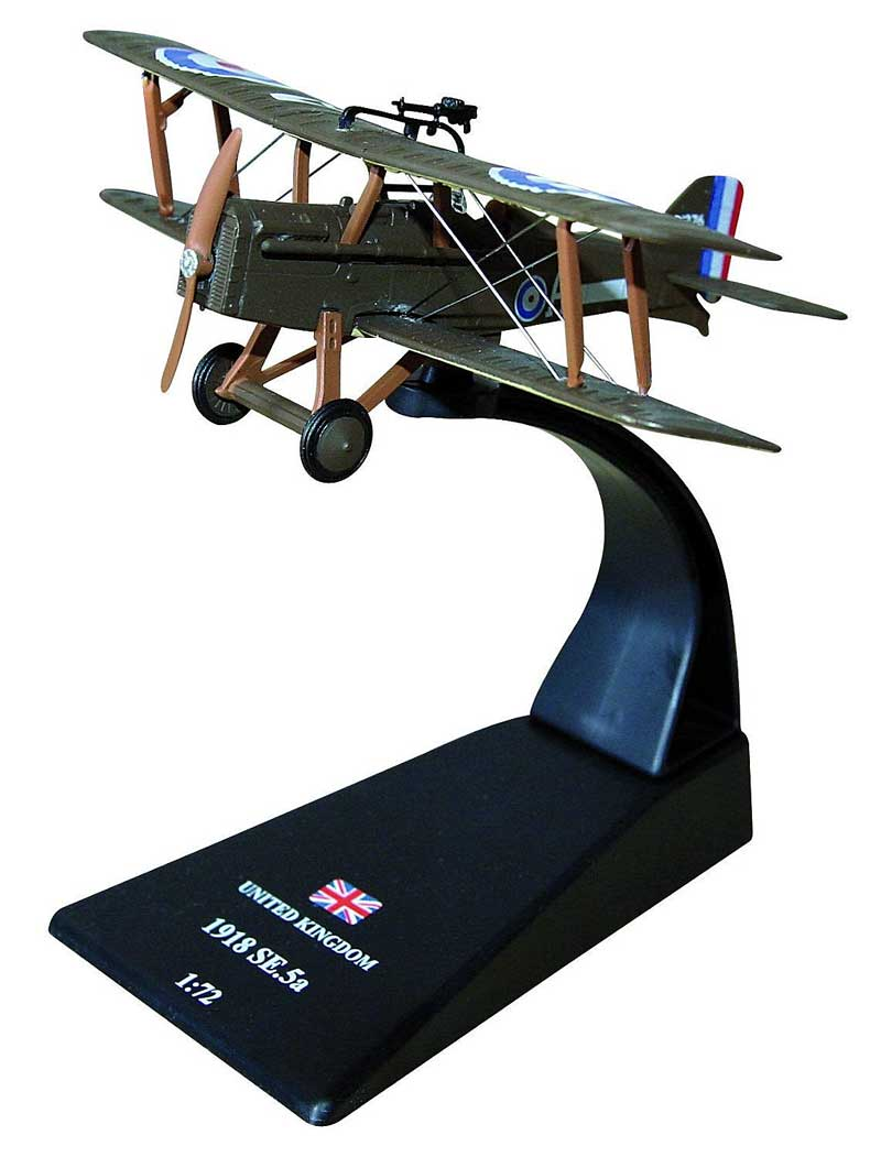 "Royal Aircraft Factory S.E. 5a, Edward ""Mick"" Mannock (61 victories), RAF No. 74 Squadron, 1918 (1:72)"