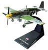 P-51B Mustang, Lt. Robert Eckfeldt, 374th FS, 361st FG, 8th Air Force, U.S. Army Air Force, 1944 (1:72)