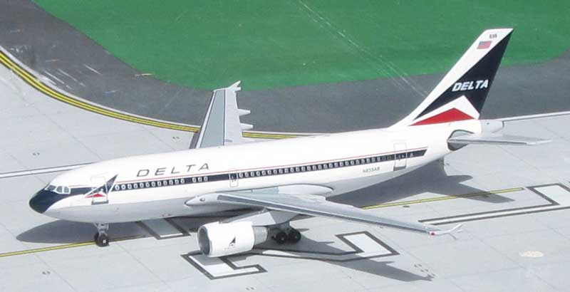 "Delta Air Lines A310-222 N835AB ""Widget Colors"" (1:400)"