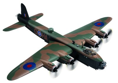 Short Stirling MKIII - A.L. Aaron VC 218 Sqn (1:72)
