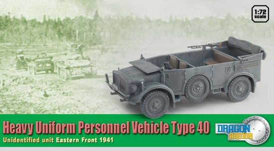 Heavy Uniform Personnel Vehicle Type 40 (1:72)