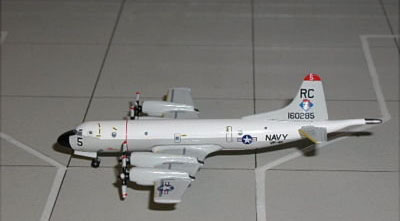 "P-3C Orion U.S. Navy VP-46 ""Grey Knights"" (1:400)"