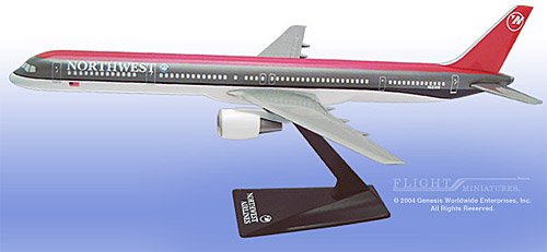 Northwest 757-300 (Old Colors) (1:200)