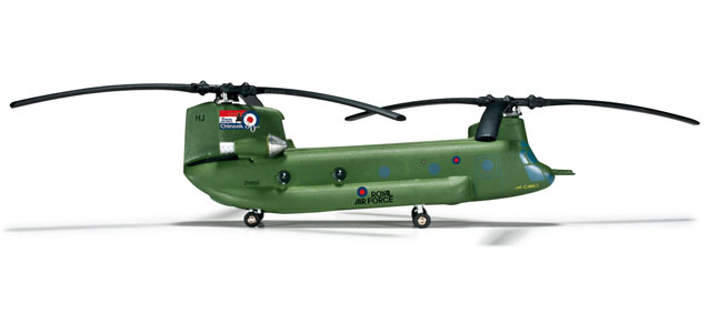 Chinook HC-2A (1:200) RAF 27 Squadron 30 Years