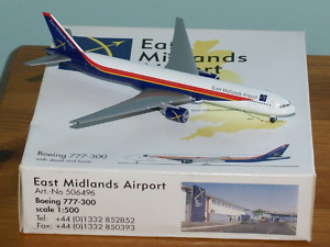 Fantasy East Midlands Airport B777-300 (1:500)