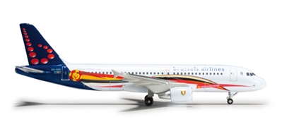 Brussels A320 (1:500) Red Devils