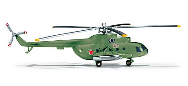 Soviet Air Force MI-8T Monino Air Forces Museum (1:200)