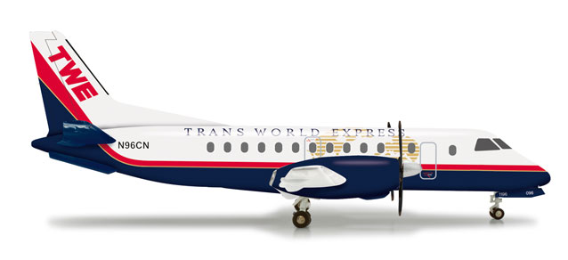 TWE Trans World Express SF-340 (1:200) N96CN