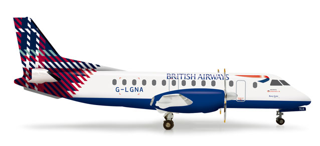 British Airways SF-340 (1:200) Benyhone Tartan G-LGNA