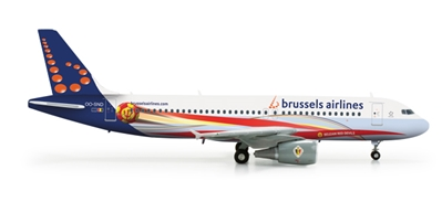 Brussels A320 (1:200) Red Devils