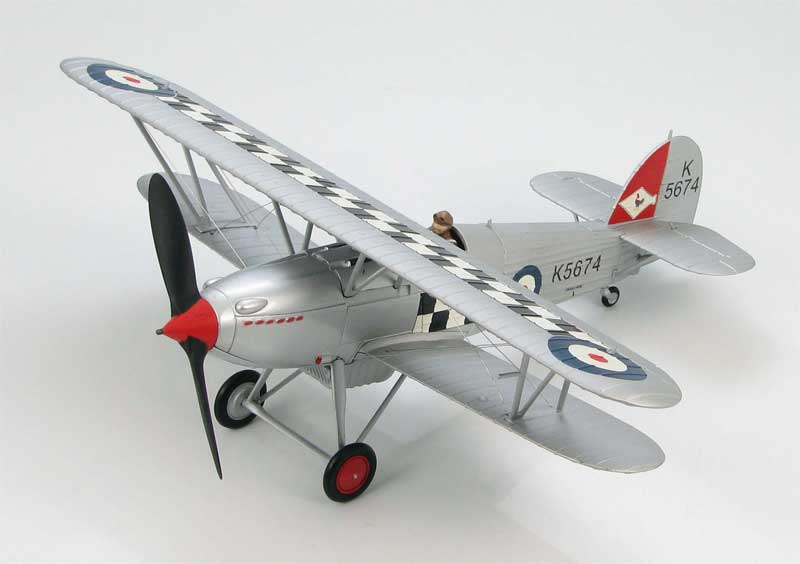 "Hawker Fury Mk.I No. 43 ""Fighting Cocks"" Squadron, RAF, 1930s (1:48)"
