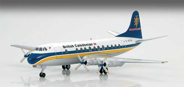 British Caledonian Vickers Viscount 700 (1:200)