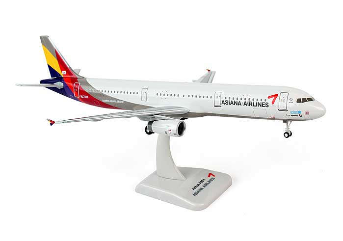 Asiana A321 (1:200) with Gear HL7711