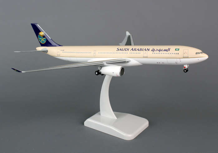 Saudi A330-300 (1:200) With Gear, Registration: HZ-AQB
