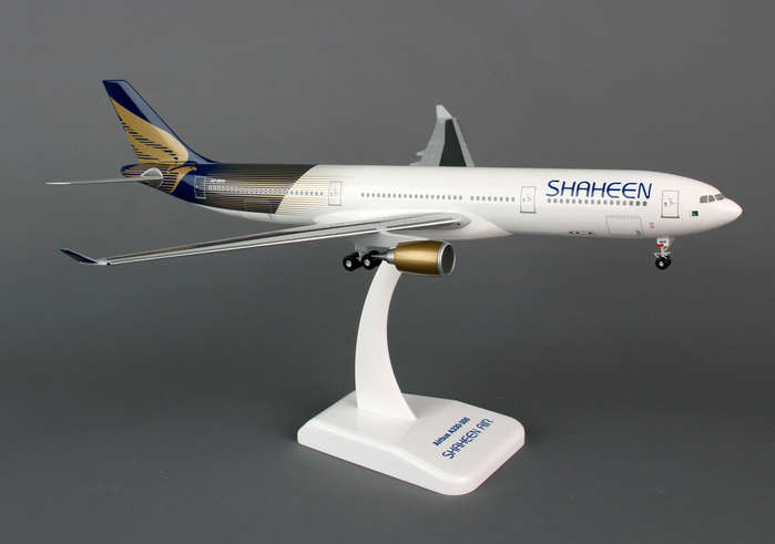 Shaheen Air A330-300 (1:200) With Gear, Registration: AP-BKM