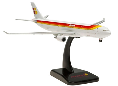 Iberia A330-300 (1:400) with Gear & Stand EC-LUB