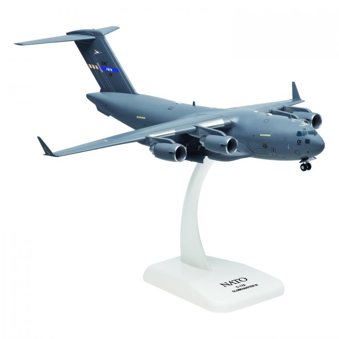 C-17 NATO (1:200) with Gear, Fully Assembled