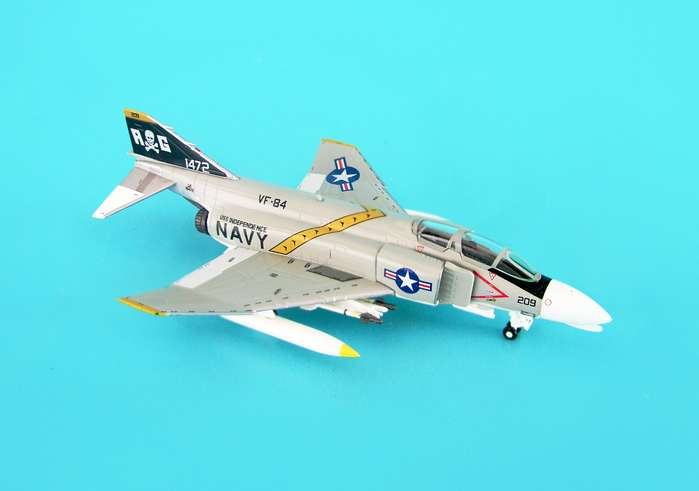 F-4B USN VF84 Jolly Rogers Uss Independence (1:200)