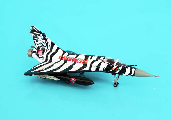 Mirage 2000C 12-YM Ec 1/12 Cabresis Tiger MEET06 (1:200)