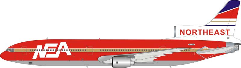 "Northeast L1011 N765BE ""Fantasy Model - Die Hard 2 Movie"" (1:200) - Preorder item, Order now for future delivery"