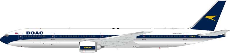BOAC Boeing 777-300ER G-TRPL (1:200) - Preorder item, Order now for future delivery
