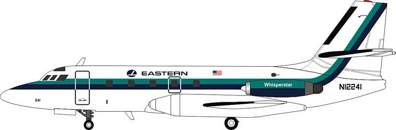 Eastern Air Lines Lockheed L-1329 JetStar 8 N12241 (1:200)