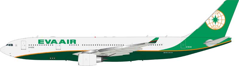 EVA Air Airbus A330-200 B-16310 (1:200) - Preorder item, Order now for future delivery