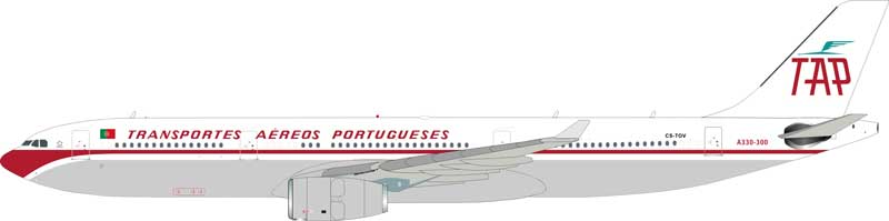"TAP Portugal Airbus A330-300 ""Retrojet"" CS-TOV (1:200) - Preorder item, order now for future delivery"