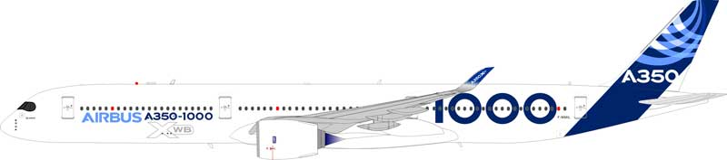 Airbus A350-1000 F-WMIL (1:200) - Preorder item, order now for future delivery