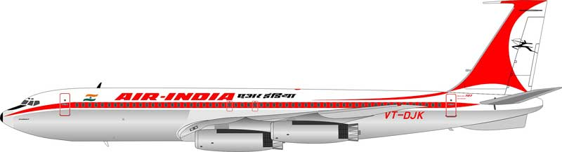 Air India Boeing 707-400 VT-DJK (1:200) - Preorder item, Order now for future delivery