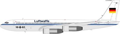 Luftwaffe German Air Force Boeing 707-300 1002 (1:200)