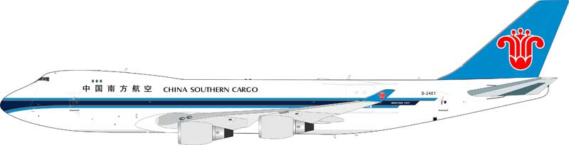 China Southern Airlines Cargo Boeing 747-400 B-2461 (1:200) - Preorder item, Order now for future delivery
