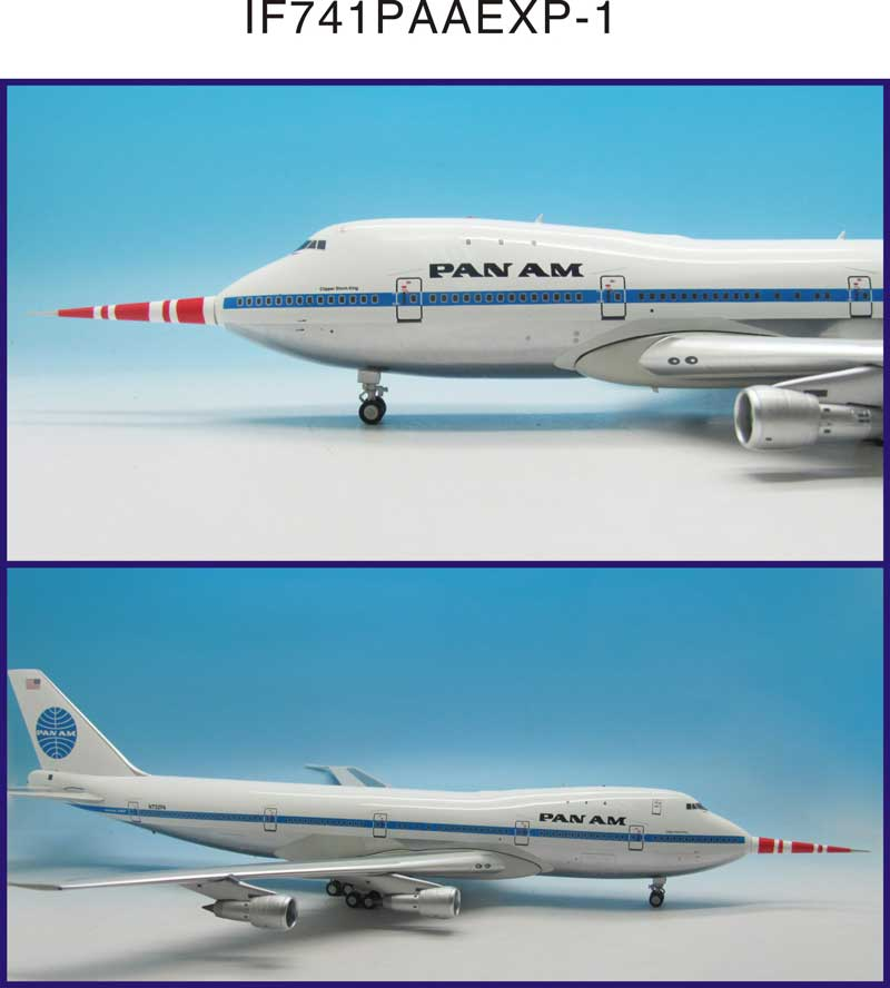 "Pan Am 747-100 ""Clipper Storm King"" N732PA Test bed with 32' Probe (1:200)"