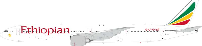 Ethiopian Airlines Boeing 777-300ER ET-APX (1:200) - Preorder item, order now for future delivery