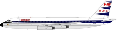 Northeast Airlines Convair 880 N8493H 1960s Colors (1:200) - Preorder item, Order now for future delivery
