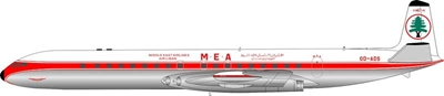 MEA De Havilland DH-106 Comet 4C OD-ADS Polished (1:200) - Preorder item, Order now for future delivery