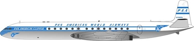 Pan American World Airways Comet 4 N106PA 1960s Colors (1:200)