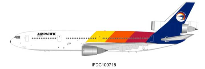 Air Pacific McDonnell Douglas DC-10-30 N821L (1:200) - Preorder item, Order now for future delivery