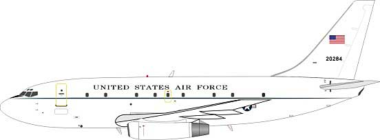 USAF Boeing T-43A (737-200) 72-0284 (1:200) - Preorder item, Order now for future delivery