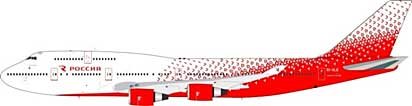 Rossiya Russian Airlines Boeing 747-400 EI-XLE (1:200)