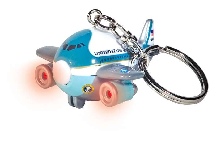 Air Force One Keychain W/LIGHT & Sound