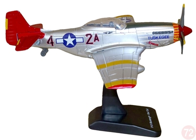 "P-51 Mustang Red Tails  ""Tuskegee"" (1:48)"