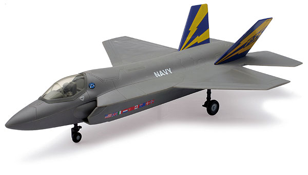 Lockheed F-35C US Navy Lightning II model kit (1:44)